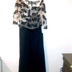 JJs house sheer special occasion dress size 22w